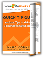 Guest Blogging   <p>Quick Tip Sheet